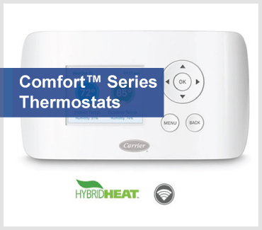 CONTROLS buckets COMFORT Series thermostats